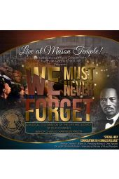 We Must Never Forget [CD]
