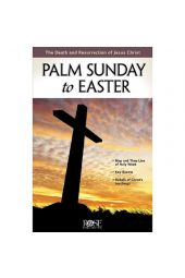 Palm Sunday To Easter Pamphlet (Single)