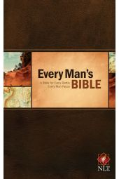 NLT Every Man's Bible-Hardcover A Bible For Every Battle Every Man Faces