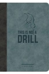 This Is Not A Drill Journal-Leather Luxe Journal