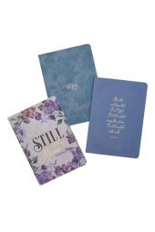 Be Still and Know Notebooks, Set of 3
