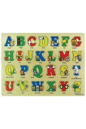 Bible ABC's Wooden Puzzle (26 pieces)