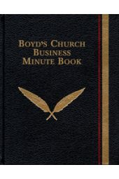 Boyd's Church Business Minute Book