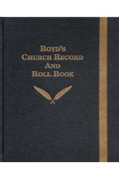 Boyd's Church Record And Roll Book