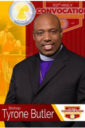 112th Holy Convocation | Bishop Tyrone Butler