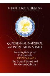Commemorative Inaugural & Episcopal Consecration Set
