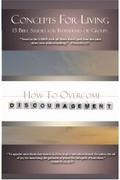 """Concepts for Living   Adult """"How To Overcome Discouragement"""" [eBook]"""
