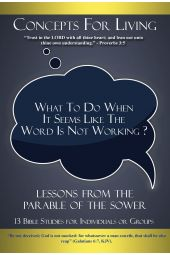 "Concepts for Living | Adult ""What To Do When It Seems Like The Word Is Not Working""  [eBook]"