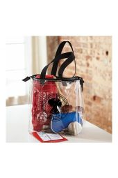 COGIC Tote with Zipper (Clear)