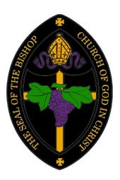 Patch - Bishop Seal (Black)