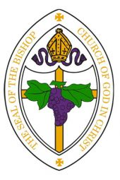 Patch - Bishop Seal (White)