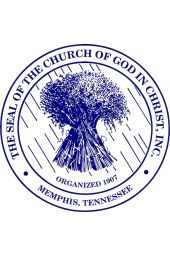 Car Door Magnet - COGIC Seal