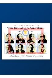 Commemorative Inaugural Poster | From Generation to Generation
