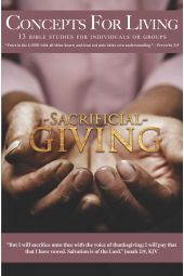 """Concepts for Living   Adult """"Sacrificial Giving"""" [eBook]"""