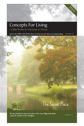 "Concepts for Living | Teen ""The Secret Place"" [eBook]"