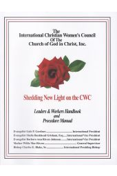 Christian Women's Council Leaders & Workers Handbook and Manual