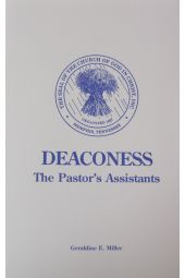 Deaconess-The Pastor's Assistants
