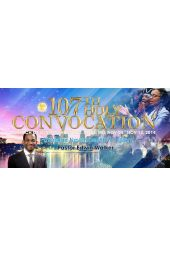 """107th Holy Convocation   Pastor Edwin Walker """"Don't Doubt The Power of God"""" [CD]"""