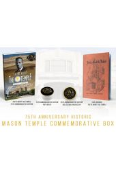 75th Anniversary Historic Mason Temple Commemorative Box