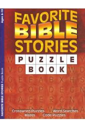 Favorite Bible Stories: Puzzle Book (Ages 6-10)