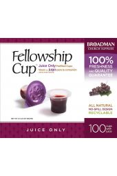 Communion-Fellowship Cup Pre-filled Juice Only (Box Of 100) (Pkg-100)