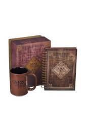 Man of God Mug and Journal Boxed Gift Set for Men - 1 Timothy 6:11