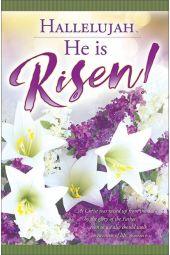 Bulletin - Hallelujah, He is Risen! (Package of 100)