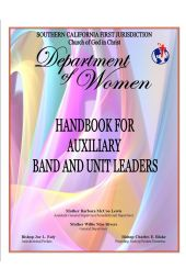 Handbook for Auxiliary, Bands and Unit Leaders