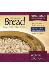 Hard Communion Bread - 500 Count