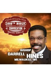 108th Holy Convocation | Bishop Bishop Darrell L. Hines
