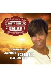108th Holy Convocation | Evangelist Janice Craig