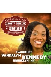 108th Holy Convocation | Evangelist Vandalyn Kennedy