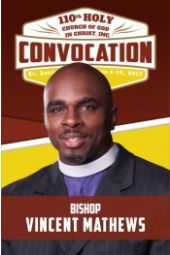 110th Holy Convocation | Bishop Vincent Mathews