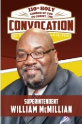 110th Holy Convocation | Supt. William McMillian