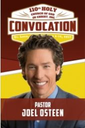 110th Holy Convocation | Pastor Joel Osteen