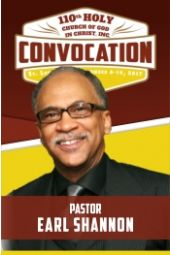 110th Holy Convocation   Pastor Earl Shannon