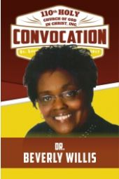 110th Holy Convocation | Dr. Beverly Willis