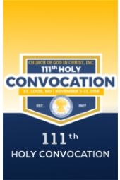 111th Holy Convocation | Bishop David A. Hall, Sr.