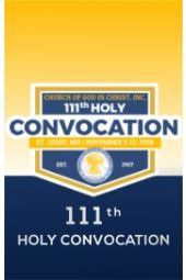 111th Holy Convocation | Bishop David A. Hall, Sr.