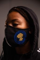 Face Mask Black- COGIC Seal S/M