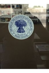 COGIC Seal Window Decal