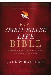 KJV Comfort Print Spirit-Filled Life Bible, Third Edition, Hardcover