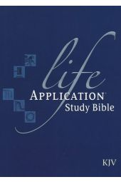 KJV Life Application Study Bible, Hardcover