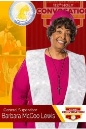 112th Holy Convocation | Mother Barbara McCoo Lewis