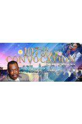 "107th Holy Convocation | Bishop Loran E. Mann ""Divine Initiative"" [DVD]"