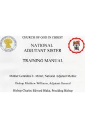 National Adjutant Sister Training Manual