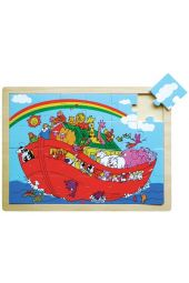 Noah's Ark Wooden Puzzle (24 Pieces)