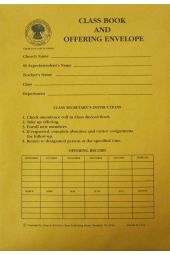 Class Book & Offering Envelope