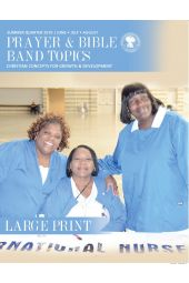 Prayer & Bible Band Topics (Large Print) SPQ (Mar-May)