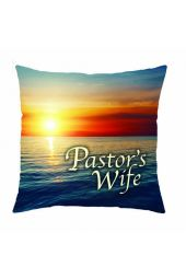 "Pillow-Pastor's Wife (18"" x 18"")"
